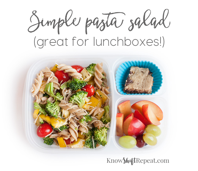 how to make simple pasta salad