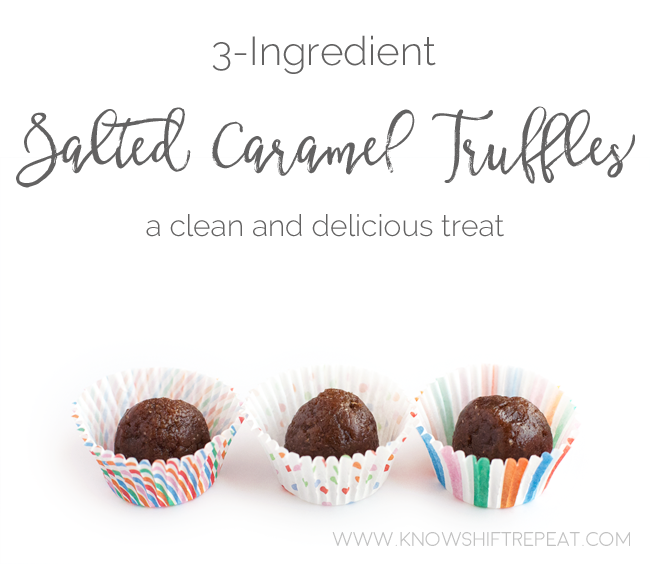 3-Ingredient Salted Caramel Truffles