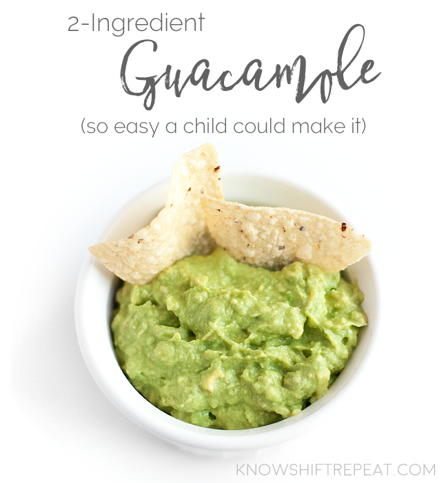 2 Ingredient Guacamole